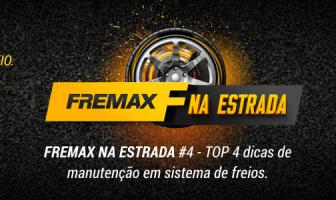 FREMAX NA ESTRADA #4 – TOP 4 dicas de manutenção do sistema de freio.