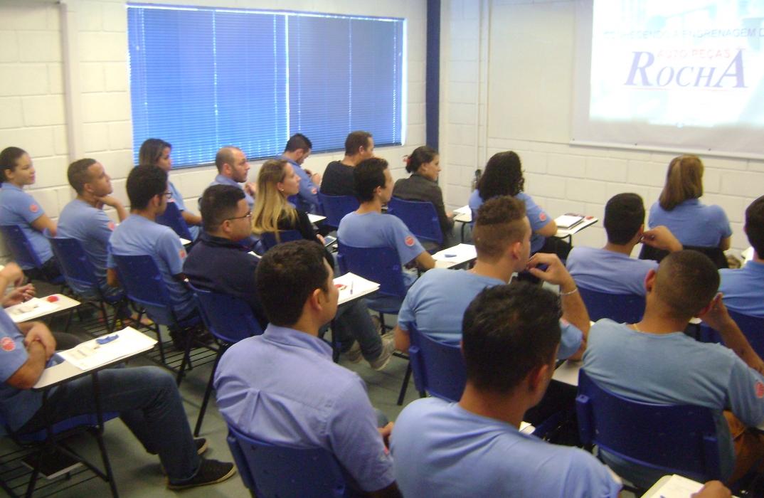 Novo Auditório para treinamentos é inaugurado em nosso Centro de Distribuição.